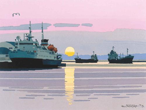 藤倉展釧路風景画像